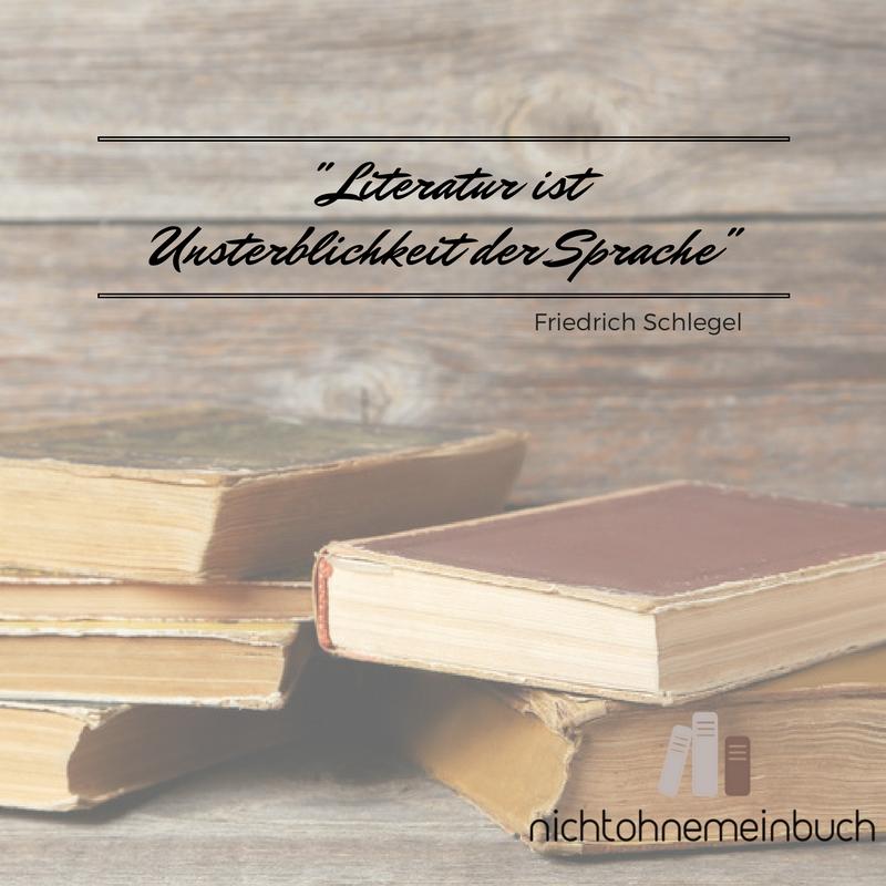 literatur ist unsterblichkeit der sprache